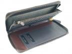 Мужской клатч-портмоне из кожи ската