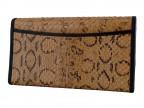 Женский кошелек из кожи змеи вайпер