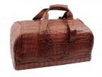 Большая крокодиловая сумка