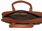 Портфель-сумка из кожи страуса