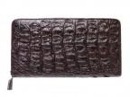 Клатч из крокодиловой кожи (на молнии)