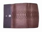 Женский кошелек из питоновой кожи