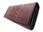Женское портмоне из кожи питона