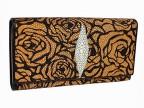 Женское портмоне из кожи ската