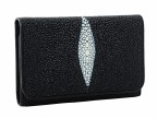 Женский кошелек из ската в три сложения