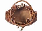 Женская сумка из натуральной кожи питона