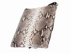 Мужская наплечная сумка из кожи питона