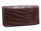 Мужское портмоне из крокодиловой кожи