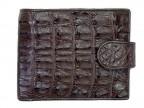 Мужской крокодиловый кошелек с монетницей