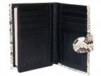 Портмоне с отделением для паспорта из питона