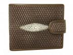 Мужской бумажник из кожи ската