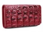 Оригинальный кошелек из кожи крокодила