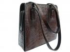 Женская сумка из крокодиловой кожи