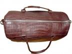Большая сумка из кожи крокодила