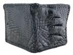 Кошелек из крокодила с лапой с оплеткой