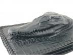 Кошелек из крокодила с настоящей головой