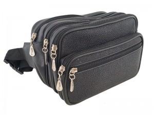 Большая набедренная сумочка из ската