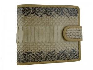 Мужской кошелек из змеиной кожи
