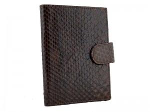 Портмоне для паспорта из кожи питона