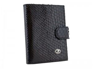 Бумажник с отделом для паспорта из питона