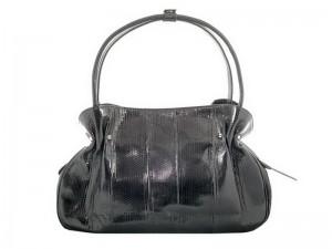 Женская сумка из кожи змеи