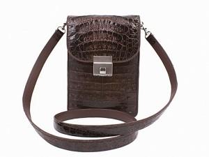 Мужская сумка-планшетка из кожи крокодила