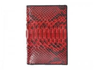 Обложка для паспорта из кожи питона