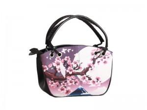 Женская сумка из кожи ската