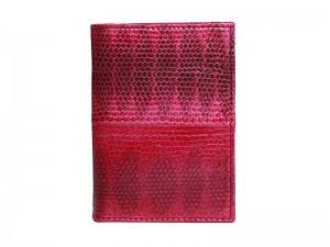Обложка для паспорта из кожи змеи