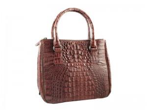 Женская крокодиловая сумка