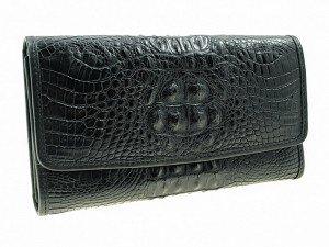 Кошелек женский крокодиловый