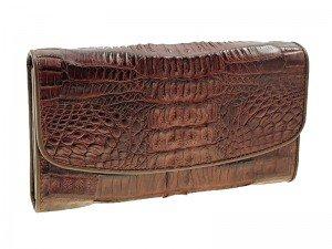 Кошелек женский из крокодила