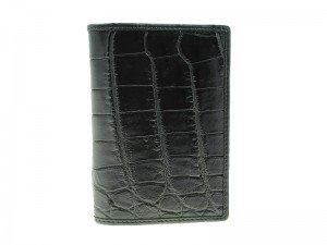 Обложка для паспорта из крокодиловой кожи