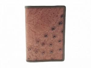 Обложка на паспорт из страусиной кожи