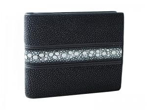 Бумажник мужской из кожи ската