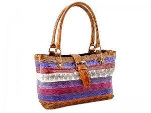 Женская сумка из змеиной кожи