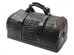 Дорожная сумка из кожи крокодила