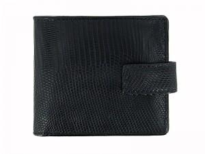 Мужской кошелек из кожи варана