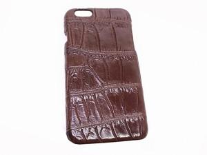 Задняя крышка для IPhone 6 из крокодила
