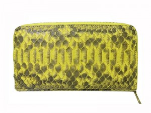 Оригинальное портмоне из кожи питона