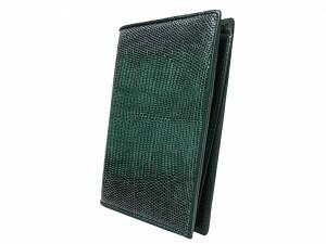 Обложка для паспорта из кожи варана