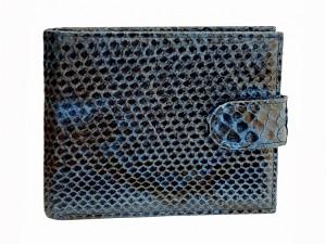 Мужской кошелек из кожи питона