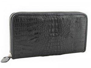 Клатч-портмоне из кожи каймана