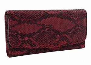 Женский кошелек из кожи питона