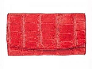 Женское портмоне из крокодиловой кожи
