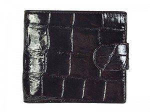 Мужской кошелек из брюха крокодила
