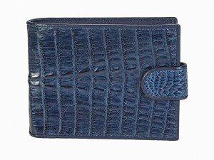 Бумажник мужской из крокодиловой кожи