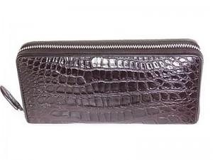 Мужской клатч из крокодиловой кожи