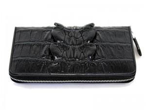 Портмоне-клатч из крокодиловой кожи