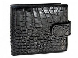 Мужской кошелек из кожи крокодила